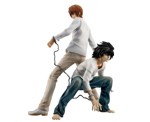 G.E.M. Series Death Note Light Yagami & L Complete Figure