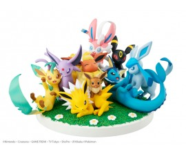 G.E.M.EX Series Pokemon Eevee Friends Complete Figure