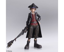 KINGDOM HEARTS III BRING ARTS Sora Pirates of the Caribbean ver. Action Figure
