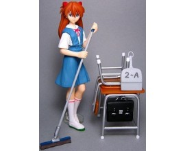 Evangelion - Asuka Langley set cleaning time