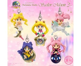 Sailor Moon Twinkle Dolly set 3