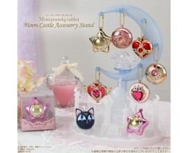 Sailor Moon Miniaturely Tablet Moon Castle Accessory Stand