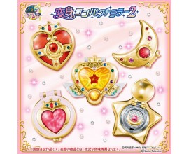 Sailor Moon Transformation Compact Mirror Gashapon set 2
