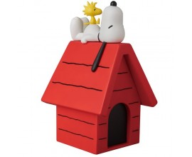 Vinyl Collectible Dolls No.261 Snoopy - Woodstock & Dog House