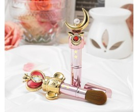 Sailor Moon Cheek Brush Moon Stick & Spiral Heart Moon Rod