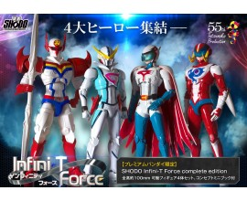 SHODO Infini-T Force Complete Edition - 55th Tatsunoko Production