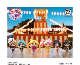 Sailor Moon Petit Chara Yukata Warriors of the Outer Solar System Ed