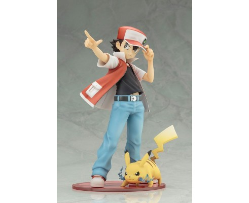 ArtFx J Pokemon - Red & Pikachu