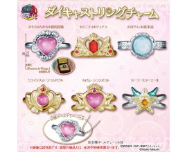 Sailor Moon Die Cast Ring Charm Gashapon Set
