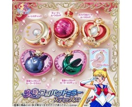 Sailor Moon Makeup Compact Mirror Stick & Rod Arrangement
