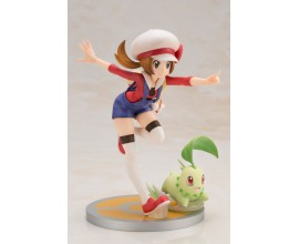 ARTFX J Pokemon Series Lyra with Chikorita 1/8 Complete Figure