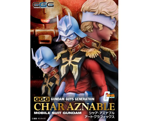 GGG (Gundam Guys Generation) Char Aznable