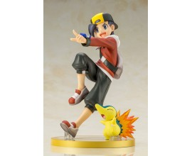 "ARTFX J ""Pokemon"" Series Ethan with Cyndaquil 1/8 Complete Figure"