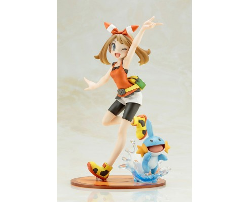 "ARTFX J - ""Pokemon"" Series: May with Mudkip 1/8 Complete Figure"