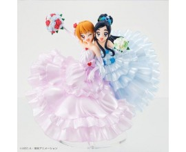 HG Girls Futari wa Pretty Cure 15th Anniversary Commemorative Figure