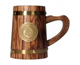 Asterix Wooden Beer Stein - PREORDINE EUROPEO