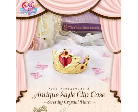 Sailor Moon Antique Style Clip Case Serenity Crystal Tiara Normal Version